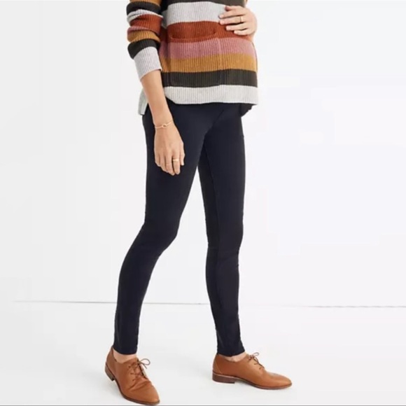 NWT Madewell Maternity Over-the-Belly Skinny Jeans